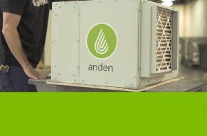 Anden-Dehumidifier-Filter-Installation