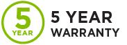 Anden-Dehumidifier-5-Year-Warranty