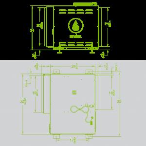 Anden-Model-320V1-Dehumidifier-Spec Sheet-Grow Room