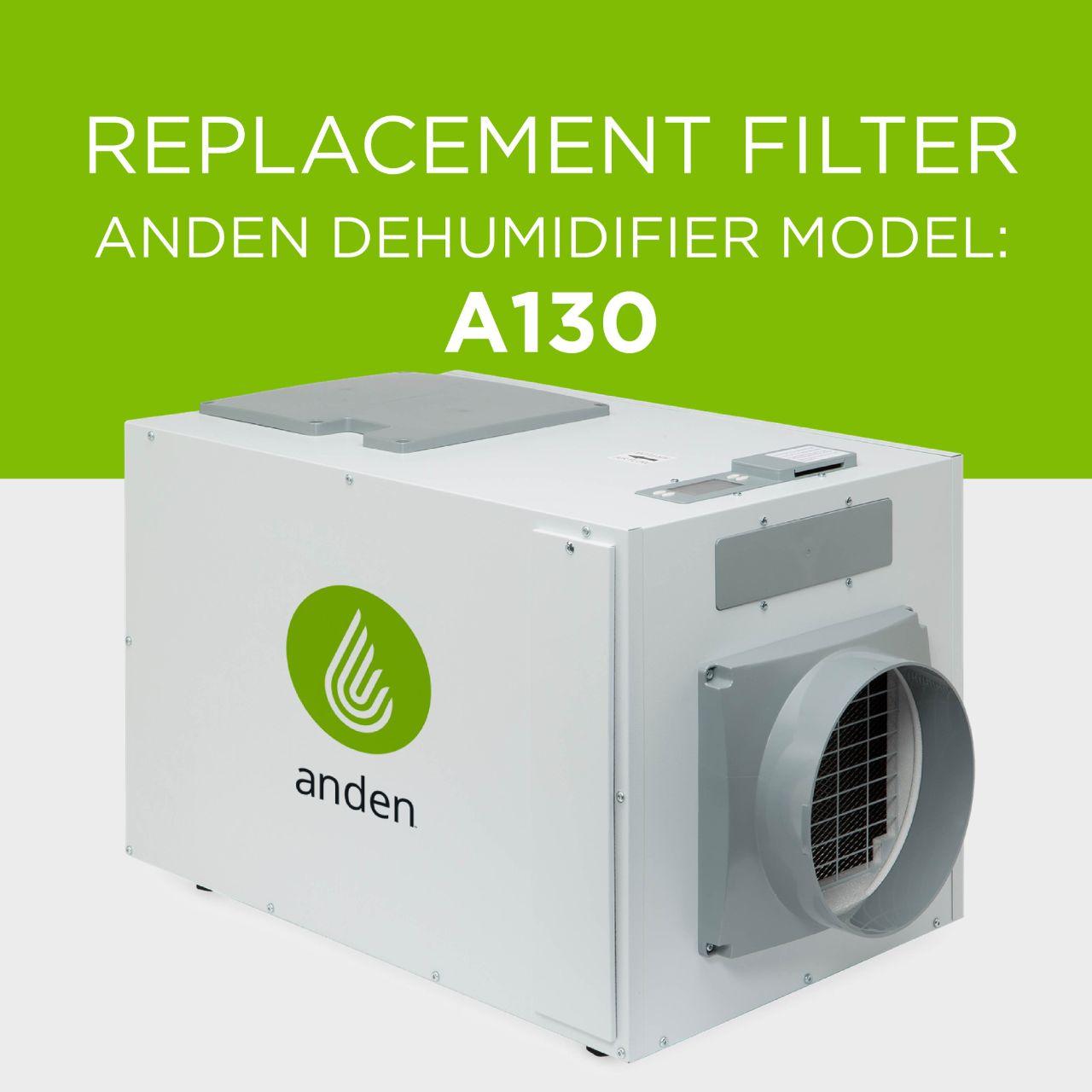 Anden-Model-A130-Dehumidifier-Replacement-Air Filter