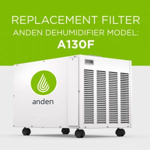 Anden-Model-A130F-Dehumidifier-Replacement-Air Filter