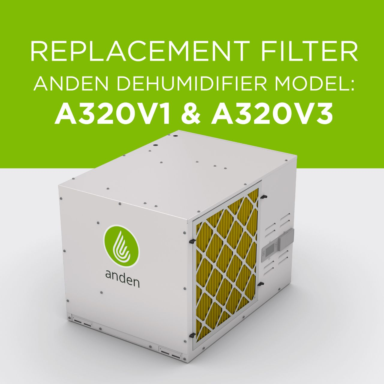 Anden-Replacement Filter-Dehumidifier-A320V1-A320V3-Replacement Part