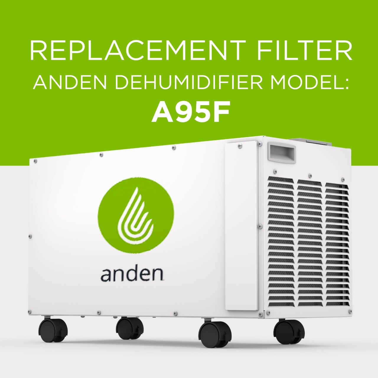 Anden-Model-95-Dehumidifier-Replacement-Synthetic-Air Filter-Grow Room