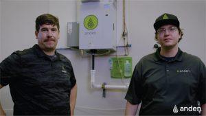 high-capacity steam humidifier
